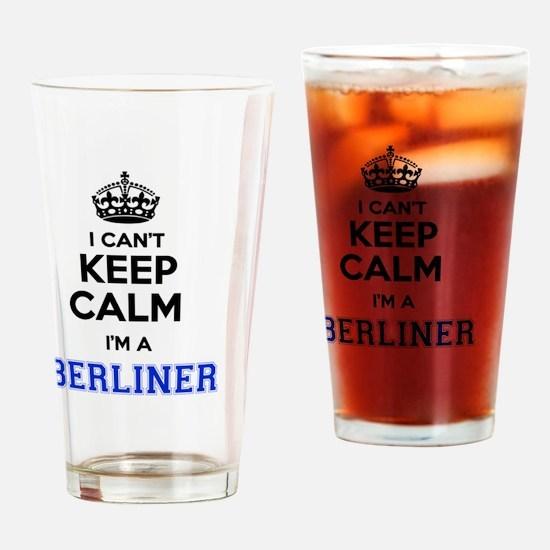 Unique Berliner Drinking Glass