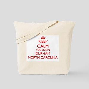 Keep calm you live in Durham North Caroli Tote Bag