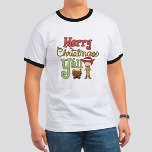Christmas Y'all Ringer T