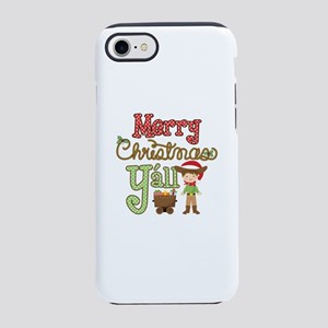 Christmas Y'all iPhone 7 Tough Case