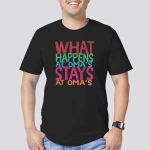 What Happens Men's Fitted T-Shirt (dark)
