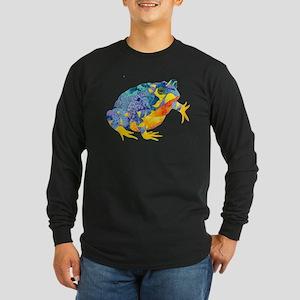 Fire Toad Long Sleeve Dark T-Shirt