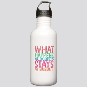 What Happens at Bubbe' Stainless Water Bottle 1.0L