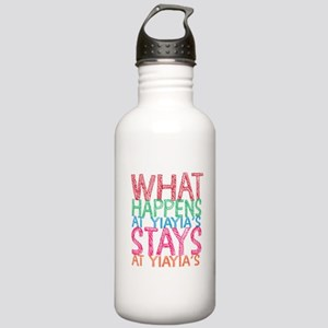 What Happens at YiaYia Stainless Water Bottle 1.0L