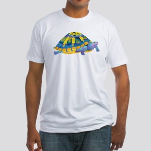 Celtic Turtle Fitted T-Shirt