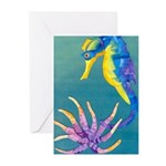 Sea Horse - Greeting Cards (Pk of 10)