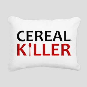 Cereal Killer Rectangular Canvas Pillow