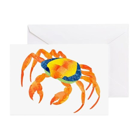 Crab Greeting Cards (Pk of 10)