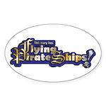 Fps-Logo-Brass And Steel Sticker