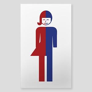 Ladyboy / Tomboy Toilet Thai Sign Sticker