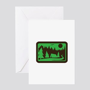 CAMPING Greeting Cards