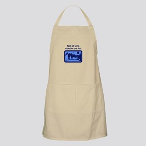 NOT ALL WHO WANDER Apron