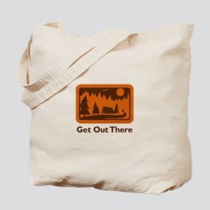 CAMPING GET OUT THERE Tote Bag