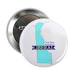 "2.25"" Button (10 pack) True Blue Delaware LIBERAL"