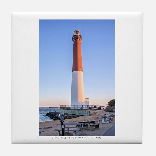 Long Beach Island - New Jersey. Tile Coaster