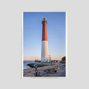 Long Beach Island - New Jersey. Rectangle Magnets