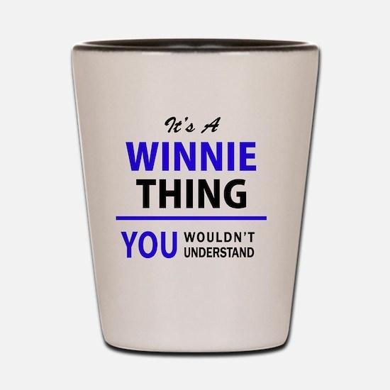 Funny Winnie Shot Glass