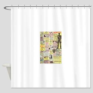 Cartoon Frankenstein Shower Curtains