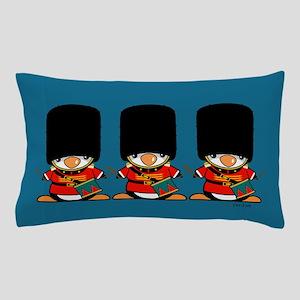 British Soldier Penguins Pillow Case