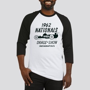 Drags Racing Indianapolis 1962 Baseball Jersey