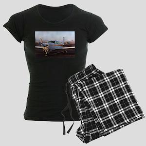 Aircraft at Page, Arizona, U Women's Dark Pajamas