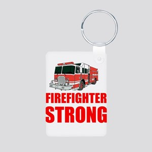 Firefighter Strong Keychains