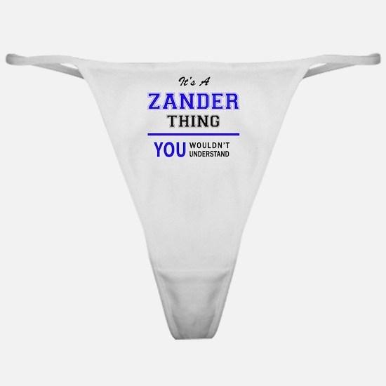 Cute Zander Classic Thong
