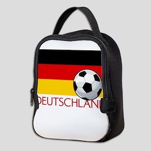 Deutschland Soccer / Fussball Neoprene Lunch Bag