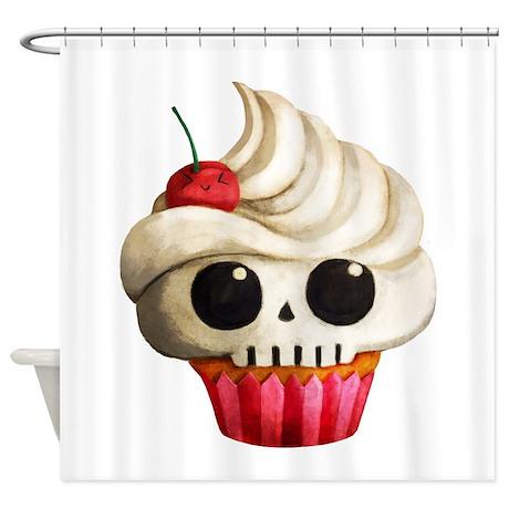 Cute Cupcakes Shower Curtain