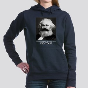 Marx Was Serious Women's Hooded Sweatshirt
