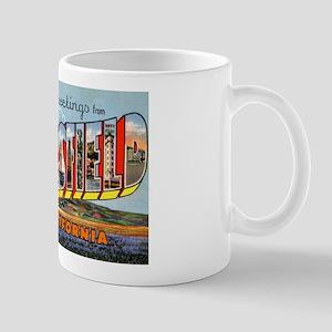 Bakersfield California Greetings Mug