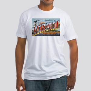 Bakersfield California Greetings (Front) Fitted T-