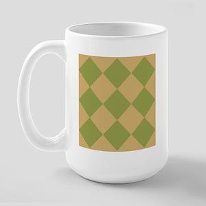 Warm Tan 1 Large Mug