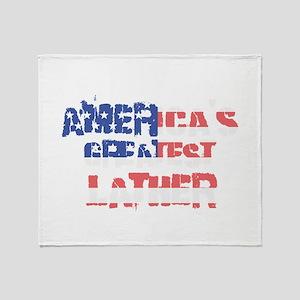 America's Greatest Lather Throw Blanket
