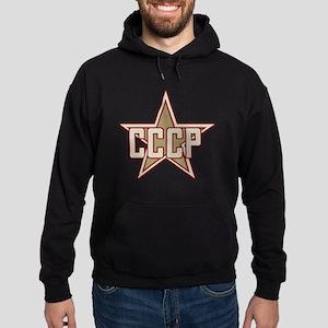 CCCP Star Vintage Hoodie (dark)
