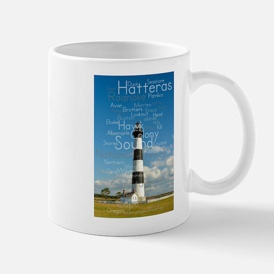 Bodie Island Lighthouse. Mug Mugs
