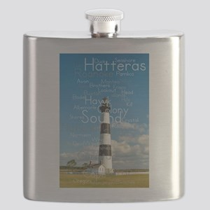 Bodie Island Lighthouse. Flask