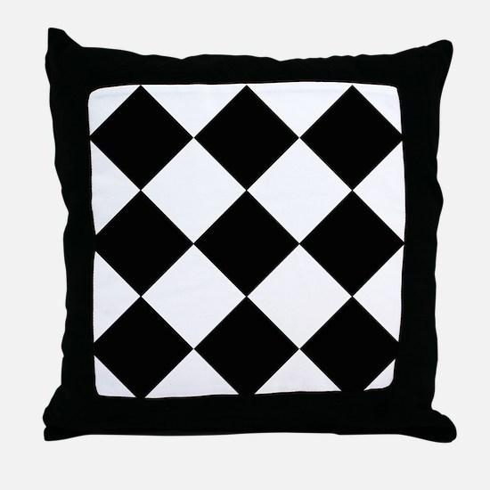 Black & White Basics Throw Pillow
