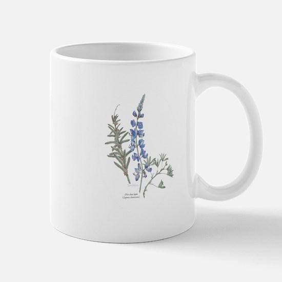 Silver Dune Lupin (Lupinus chamissonis) Mugs