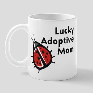 Lucky Adoptive Mom Mug