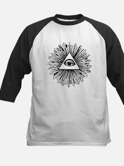 Illuminati Pyramid Eye Baseball Jersey