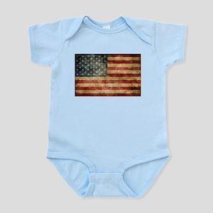 American flag grunge Body Suit