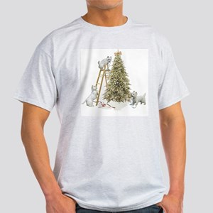 Westie Christmas Light T-Shirt