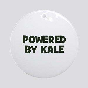 powered by kale Ornament (Round)