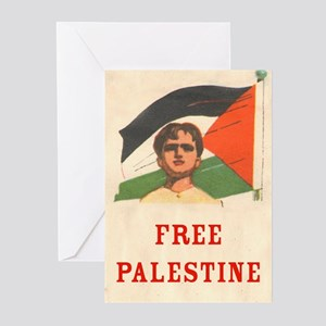 Free Palestine Greeting Cards (Package o