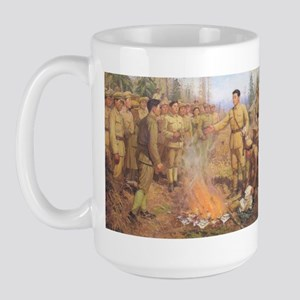 Great Leader Kim Large Mug