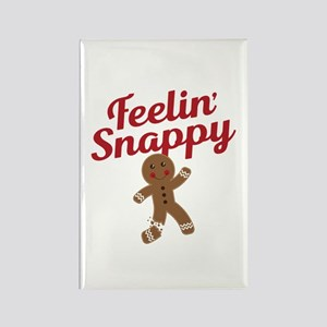 Feelin Snappy Rectangle Magnet