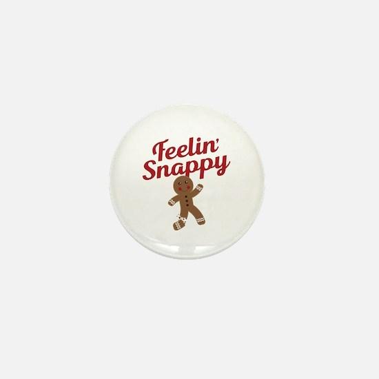 Feelin Snappy Mini Button