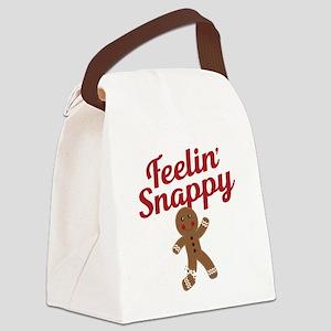Feelin Snappy Canvas Lunch Bag