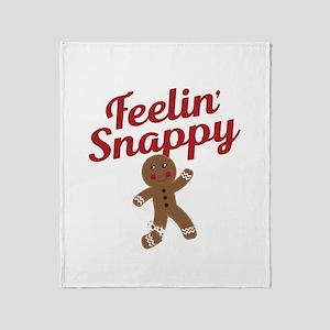 Feelin Snappy Throw Blanket
